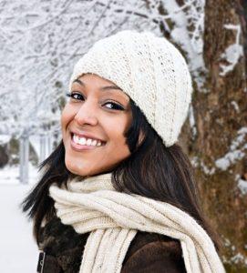 Winter Woman Skin